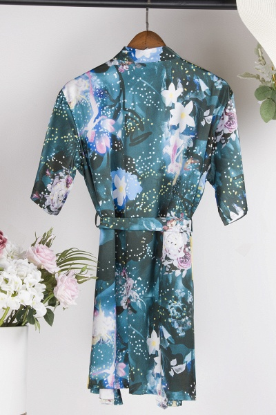 Affordable Printed Bridesmaid Bridal Robes_23