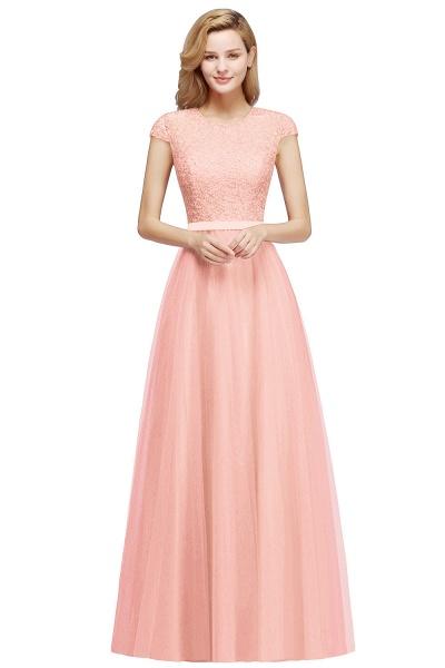 Graceful Jewel Tulle A-line Evening Dress_1