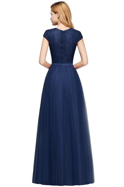 Graceful Jewel Tulle A-line Evening Dress_23