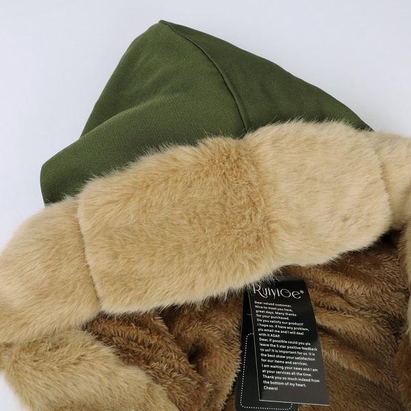 Winter Faux Fur-trimmed Long-length Overcoat_49