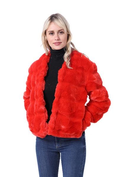 Women's Winter Short Fur Coat_3
