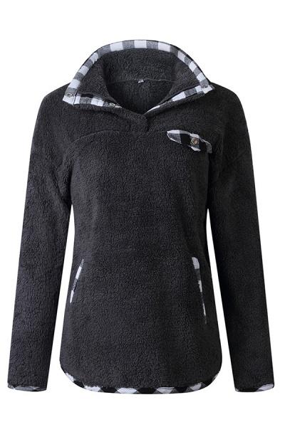Holiday Coral fleece Turndown Fur Coats_3