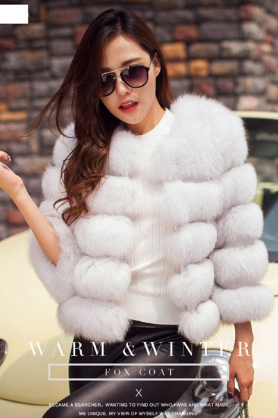 Women's Daily Party Long Faux Fur Coats_13