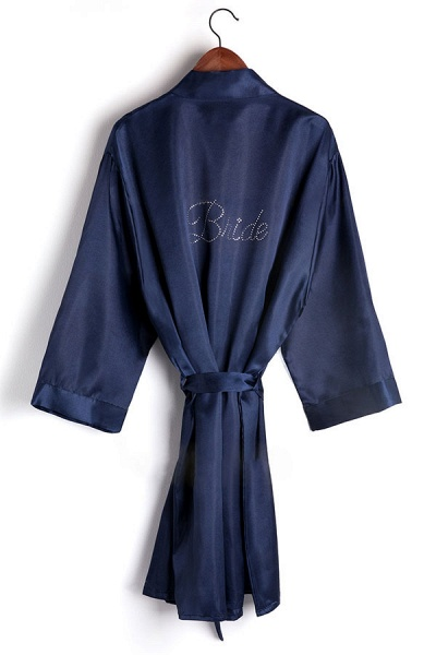 Personalized Rhinestone Bridesmaid & Bridal Robes_3