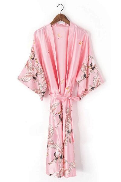 Personalized Glitter Print Bride & Bridesmaid Robes_6