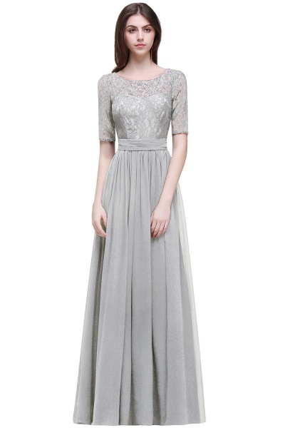 Fascinating Jewel Chiffon A-line Evening Dress_8
