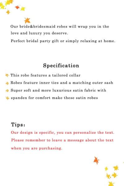 Personalized Rhinestone Bridesmaid & Bridal Robes_10