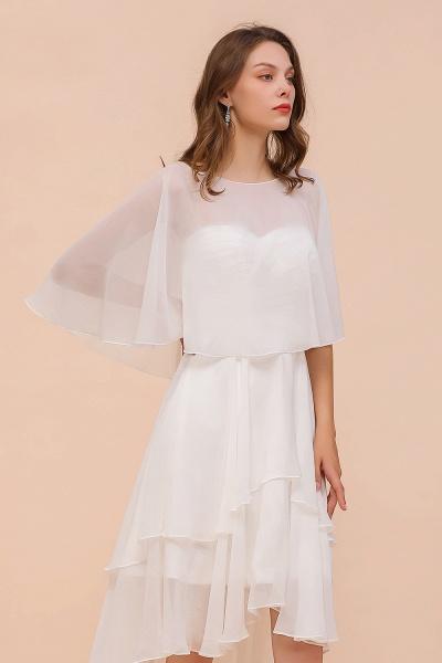BM1077 Jewel White Chiffon Special Occasions Wraps_1