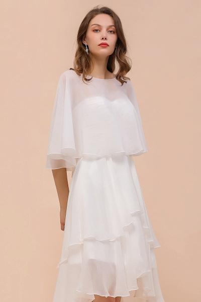 BM1077 Jewel White Chiffon Special Occasions Wraps_6