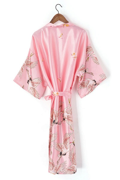 Personalized Glitter Print Bride & Bridesmaid Robes_7