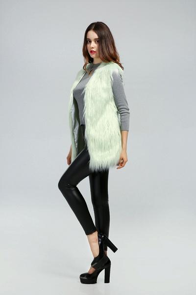 Women's Daily Fall & Winter Faux Fur Vest Coat_19
