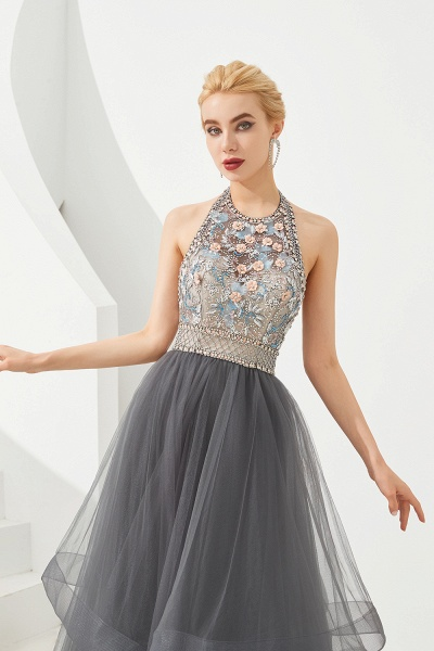 Chic Halter Tulle A-line Prom Dress_3