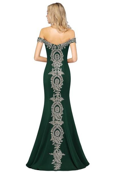 Elegant Bateau Healthy Mermaid Evening Dress_43