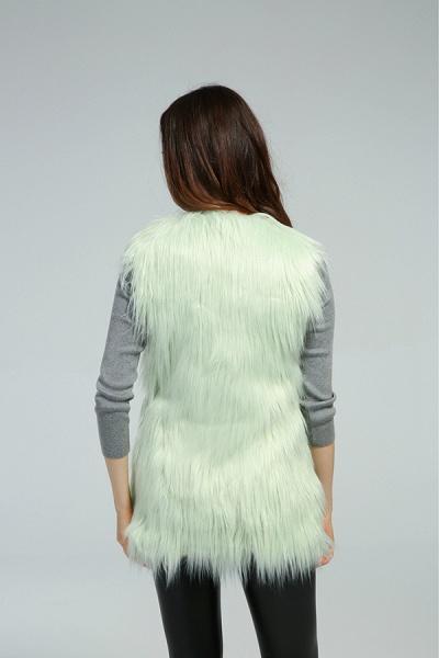 Women's Daily Fall & Winter Faux Fur Vest Coat_14