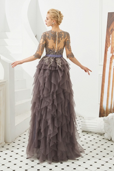 Fabulous Jewel Tulle Ball Gown Prom Dress_7