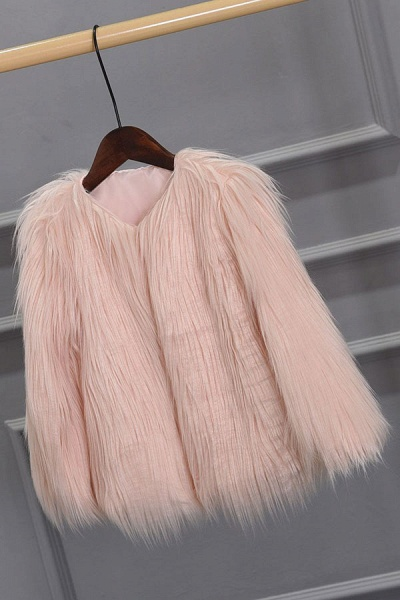 Women's Winter Daily Fashion Street Faux Fur Coat_2