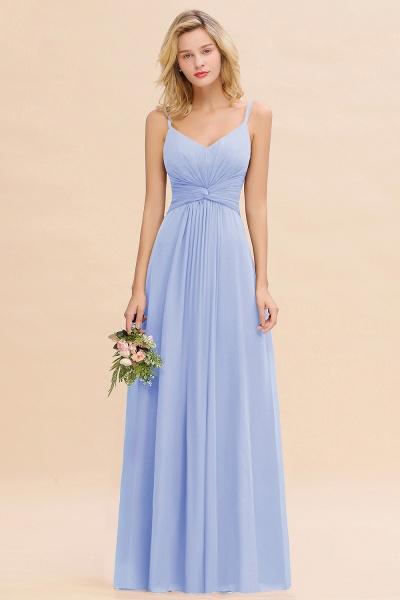 BM0762 Elegant A-line Ruffles Spaghetti Straps Bridesmaid Dress_22