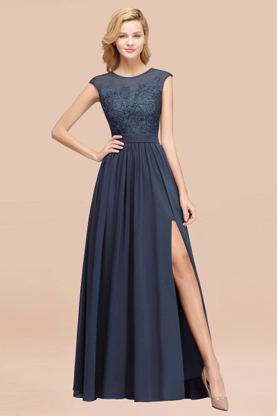 A-line Chiffon Lace Jewel Sleeveless Floor-Length Bridesmaid Dresses with Appliques_39