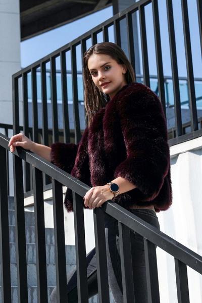 Women's Daily Basic Street Winter Faux Fur Coat_12
