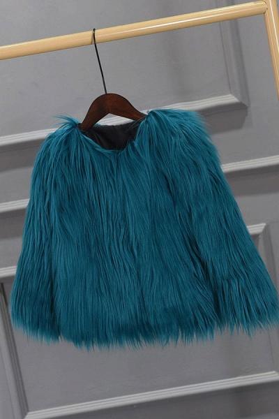 Women's Winter Daily Fashion Street Faux Fur Coat_11