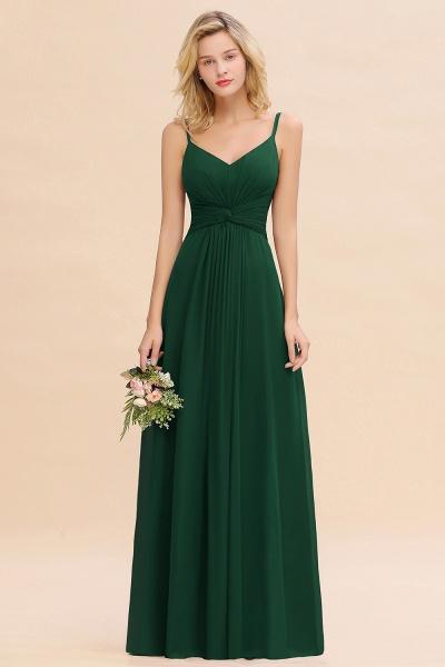 BM0762 Elegant A-line Ruffles Spaghetti Straps Bridesmaid Dress_31