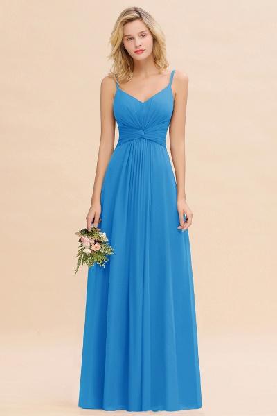 BM0762 Elegant A-line Ruffles Spaghetti Straps Bridesmaid Dress_25