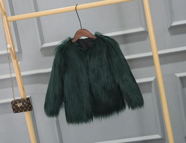 Women's Winter Daily Fashion Street Faux Fur Coat_8