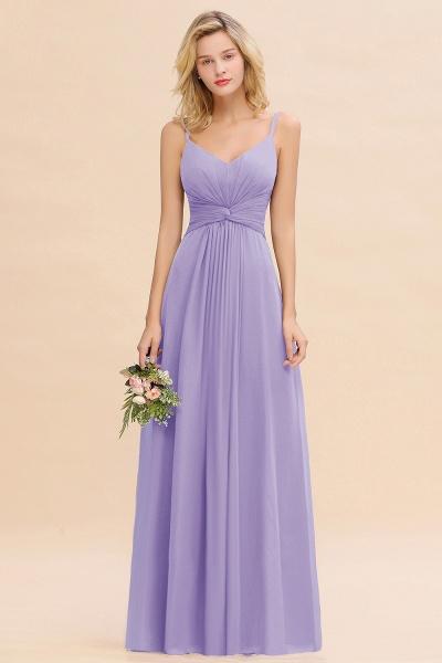 BM0762 Elegant A-line Ruffles Spaghetti Straps Bridesmaid Dress_21