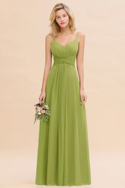 BM0762 Elegant A-line Ruffles Spaghetti Straps Bridesmaid Dress_34