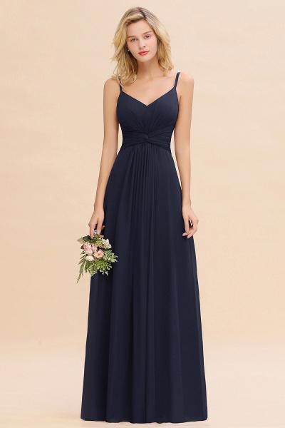BM0762 Elegant A-line Ruffles Spaghetti Straps Bridesmaid Dress_28