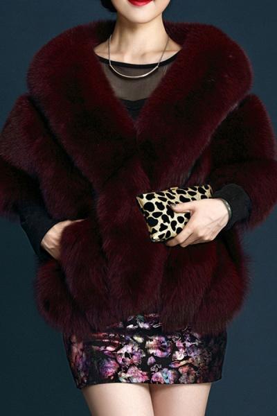Women's Going out Winter Short Fur Coat_3