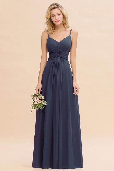 BM0762 Elegant A-line Ruffles Spaghetti Straps Bridesmaid Dress_39