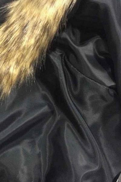 Women's Basic Winter Short Fur Coat_11