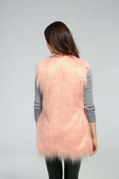 Women's Daily Fall & Winter Faux Fur Vest Coat_17