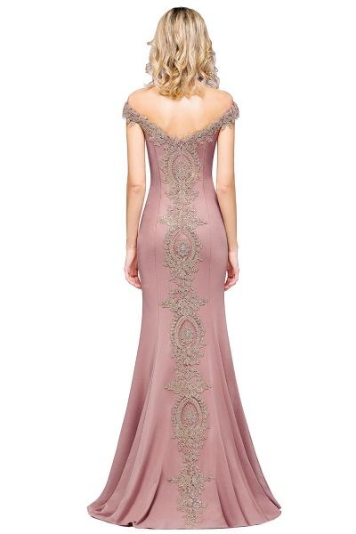 Elegant Bateau Healthy Mermaid Evening Dress_28