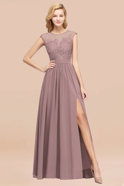 A-line Chiffon Lace Jewel Sleeveless Floor-Length Bridesmaid Dresses with Appliques_37