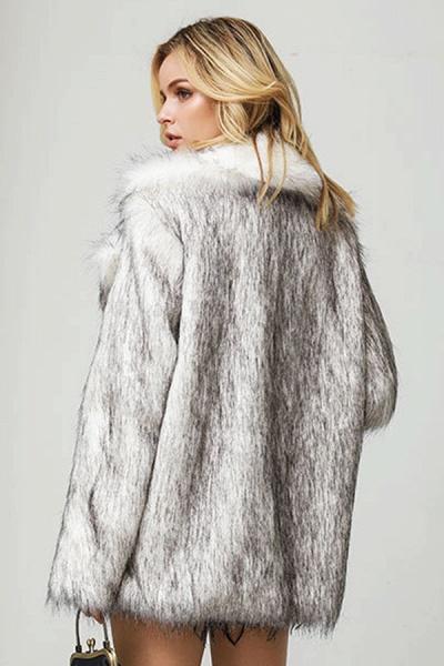 Women's Street Chic Daily Winter Faux Fur Coat_3