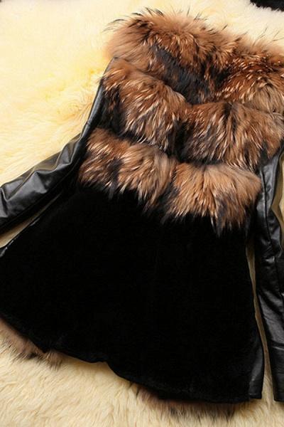Women's Daily Basic Winter Faux Fur Coat_3
