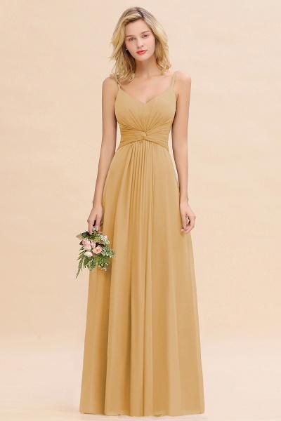 BM0762 Elegant A-line Ruffles Spaghetti Straps Bridesmaid Dress_13