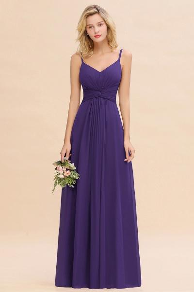 BM0762 Elegant A-line Ruffles Spaghetti Straps Bridesmaid Dress_19
