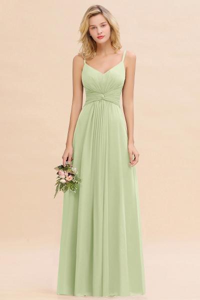 BM0762 Elegant A-line Ruffles Spaghetti Straps Bridesmaid Dress_35