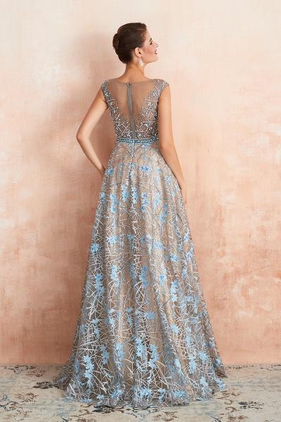 Beautiful Jewel Lace A-line Prom Dress_4