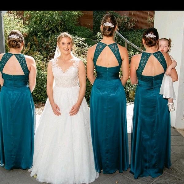Sleeveless Sexy Open Back Floor Length Cheap Bridesmaid Dresses Online_2