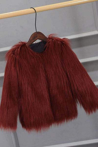 Women's Winter Daily Fashion Street Faux Fur Coat_4