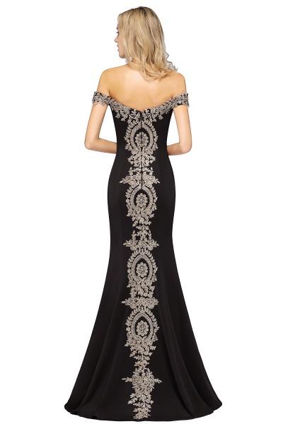 Elegant Bateau Healthy Mermaid Evening Dress_29