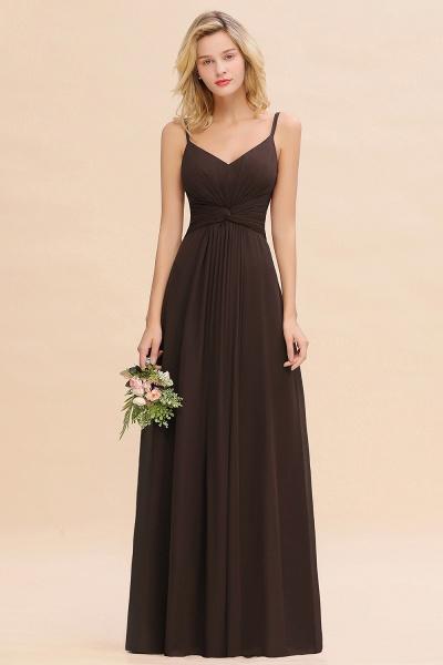 BM0762 Elegant A-line Ruffles Spaghetti Straps Bridesmaid Dress_11