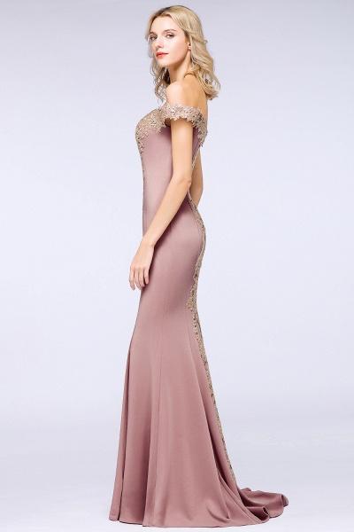 Elegant Bateau Healthy Mermaid Evening Dress_24