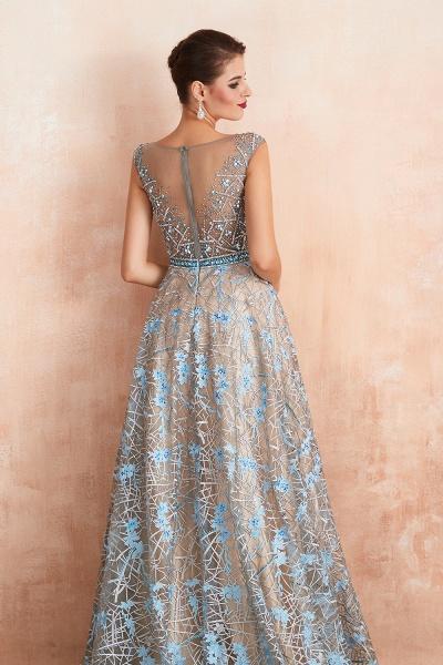 Beautiful Jewel Lace A-line Prom Dress_9