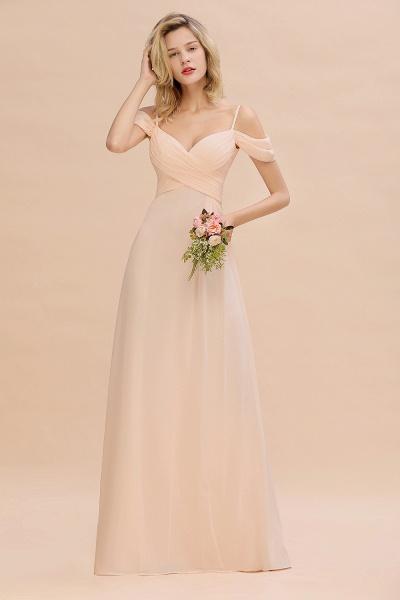 BM0786 Spaghetti Straps Sweetheart Ruffles Bridesmaid Dress_1