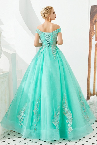 Beautiful Off-the-shoulder Tulle Ball Gown Prom Dress_20